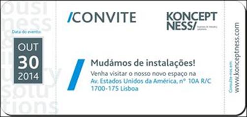 Convite Konceptness