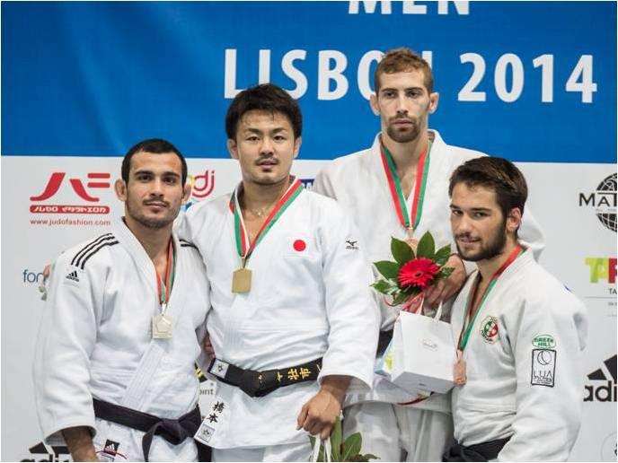 judo podio