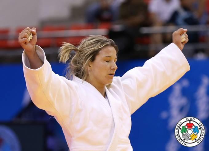 Telma Monteiro vitória