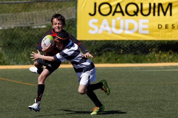 Créditos Carlos Rodrigues – Jovens em ação no Portugal Rugby Youth Festival em Sub-13