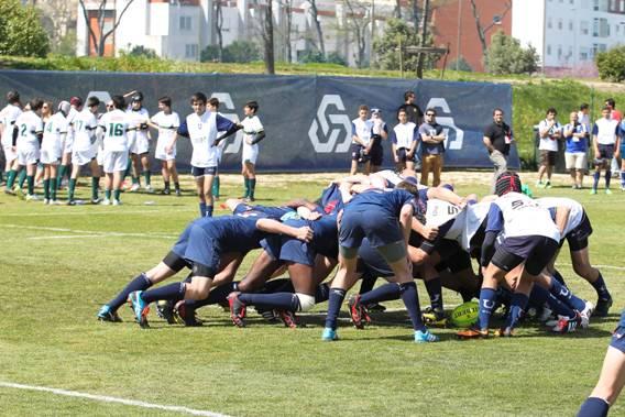 Créditos Carlos Rodrigues – Muita Disputa no Festival de Rugby