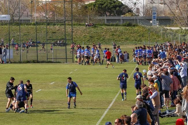 Créditos Carlos Rodrigues – Muito público presente no Estádio Universitário de Lisboa